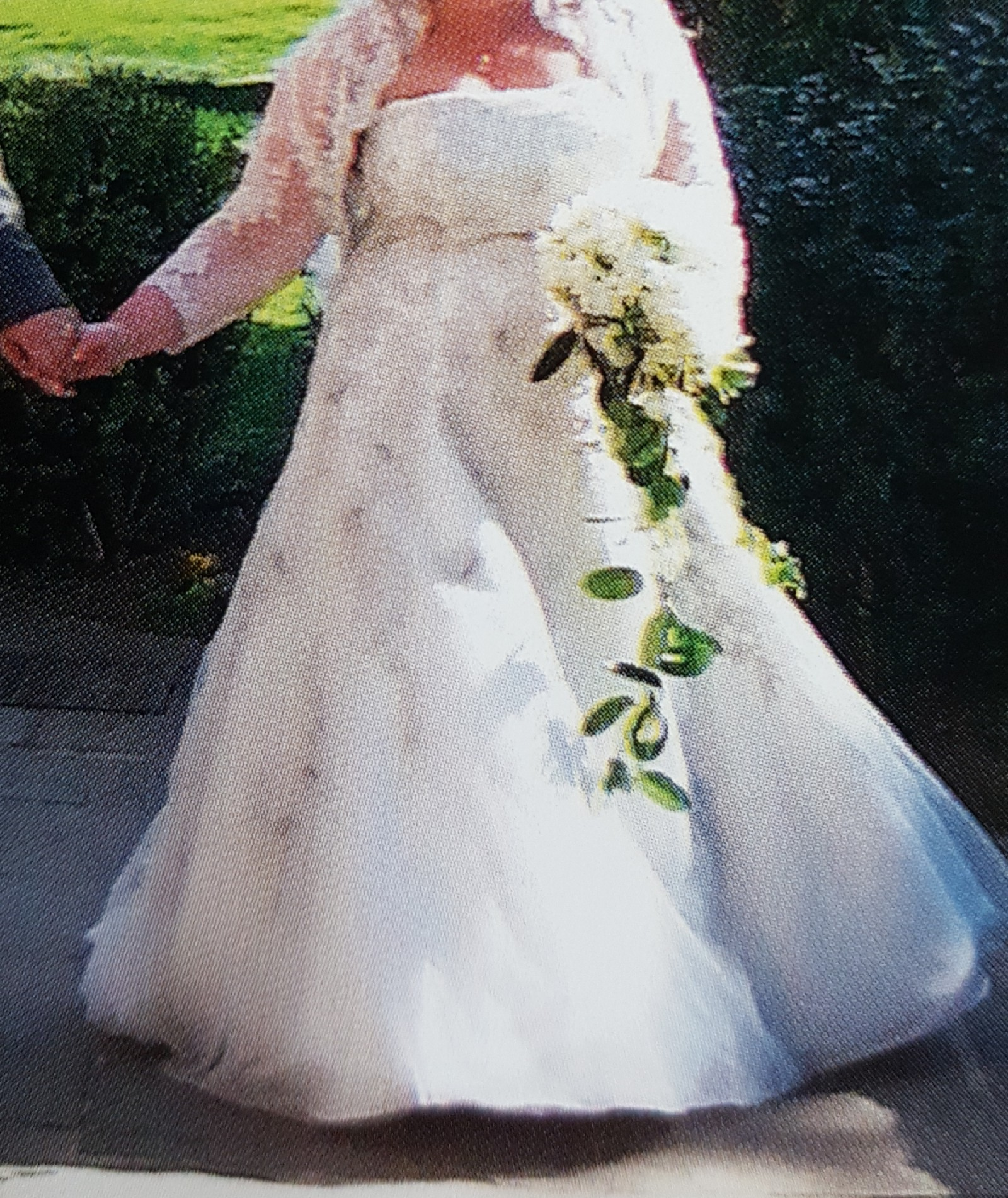 Henry Roth Second Hand Wedding Dress On Sale 82 Off: White Rose Custom Made Second Hand Wedding Dress On Sale