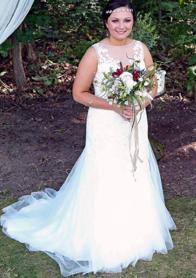 David's Bridal, Fit & Flare