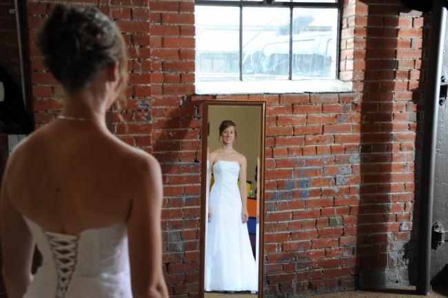 David's Bridal V9409