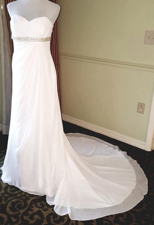 d22a327a6afe David's Bridal New Wedding Dress on Sale 63% Off - Stillwhite Canada