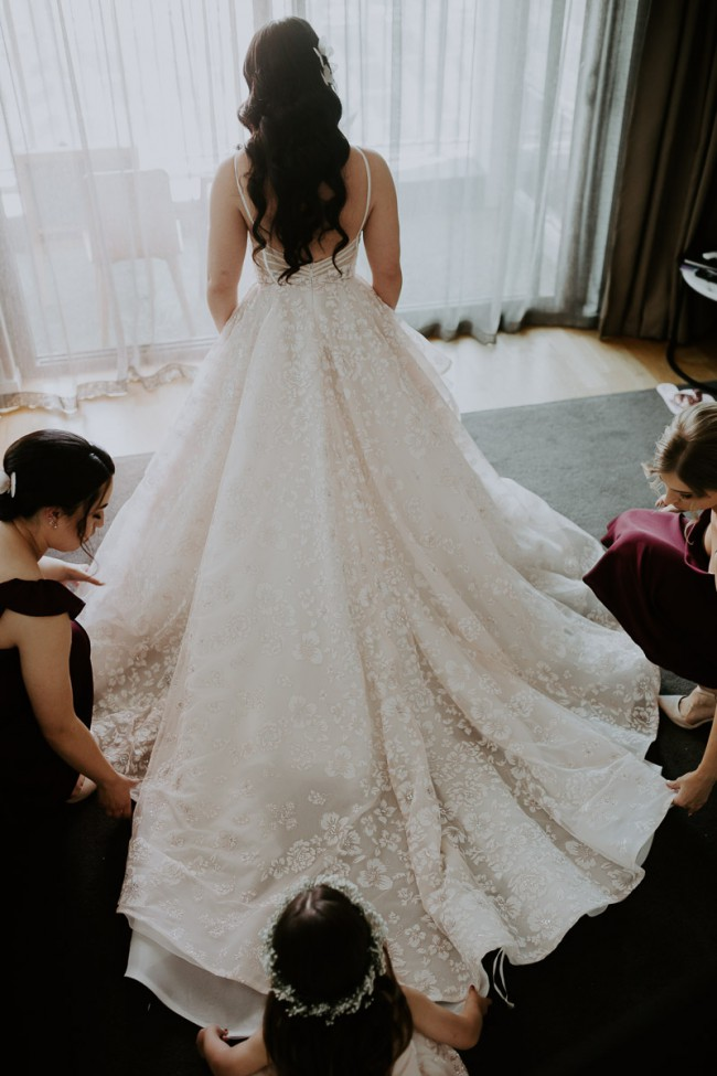 Hayley Paige, Reagan Gown