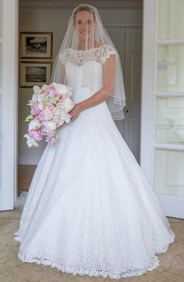 Caroline Castigliano Azaelia gown