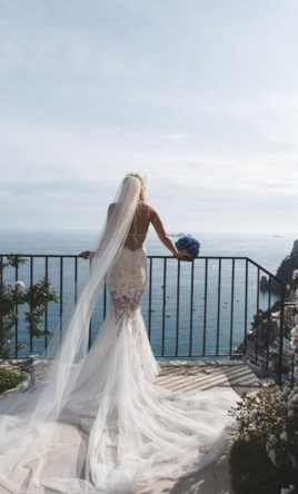 Ines Di Santo Mermaid Alencron Fitted Drop Waist