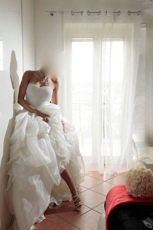 5cb706332f5d D italia celli spose Used Wedding Dress on Sale 50% Off - Stillwhite Canada