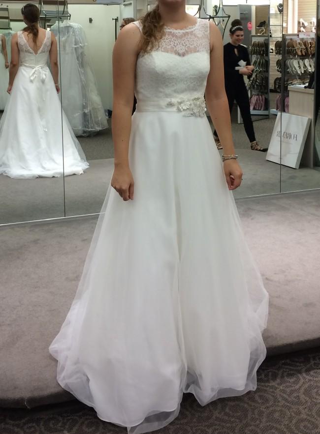 David's Bridal WG3711