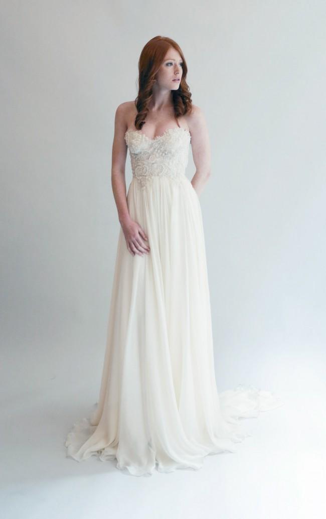 45d899e27ab Leanne Marshall Isabella Sample Wedding Dress on Sale 33% Off ...