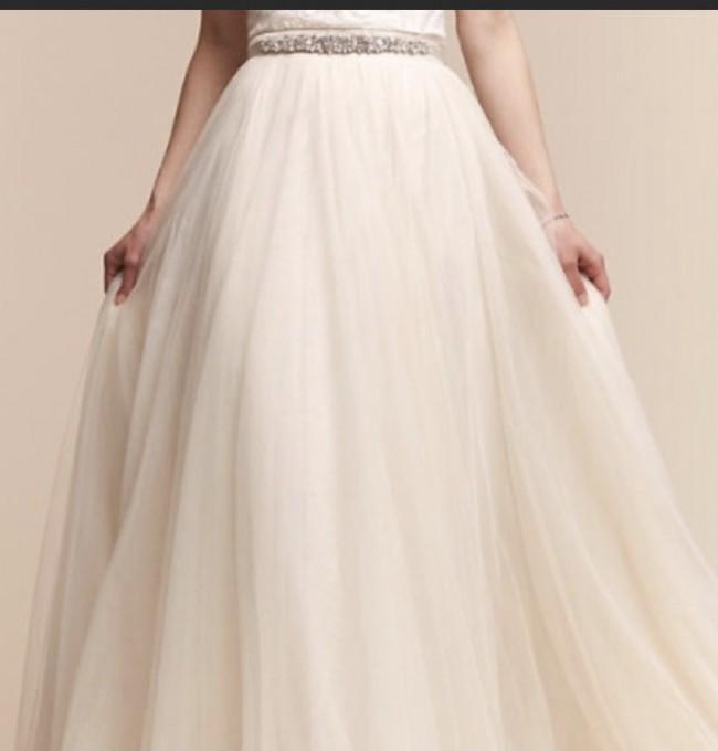 BHLDN Amora bridal skirt