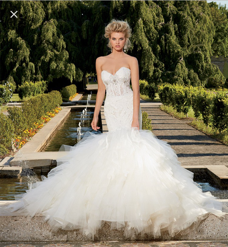 92bd1a088934 Eve of Milady Style 1535 New Wedding Dress on Sale 59% Off ...