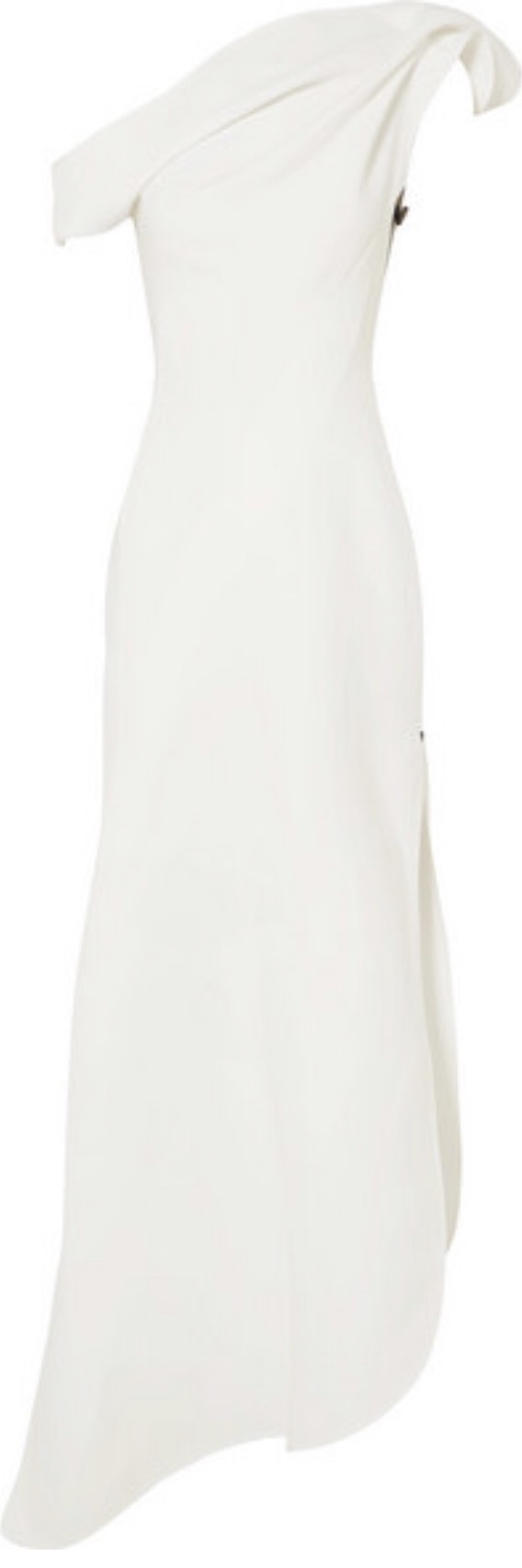 Toni Maticevski Slinger one-shoulder asymmetrical candy gown