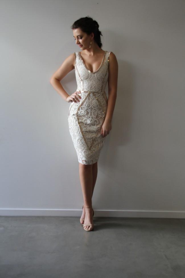 When Freddie Met Lilly Essie Cocktail Gown