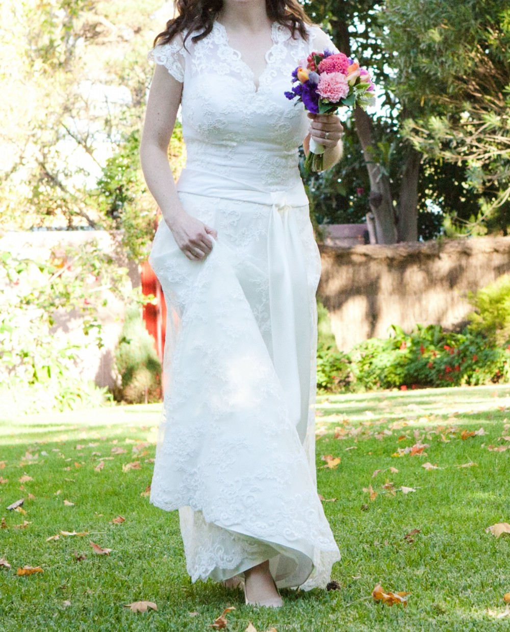 Second Hand Wedding Dresses: Sheath Second Hand Wedding Dress On Sale 70% Off