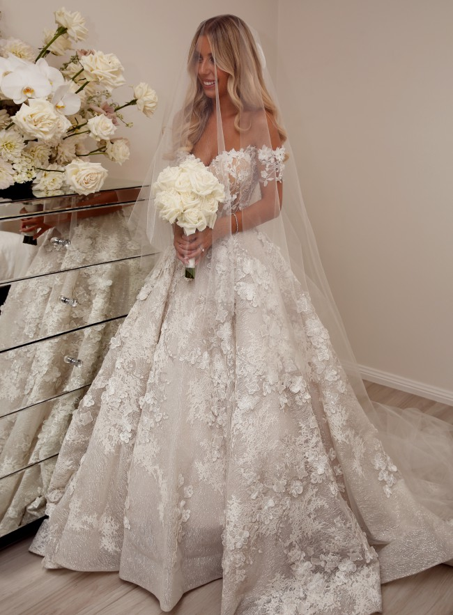 Berta Couture Gown 19-02