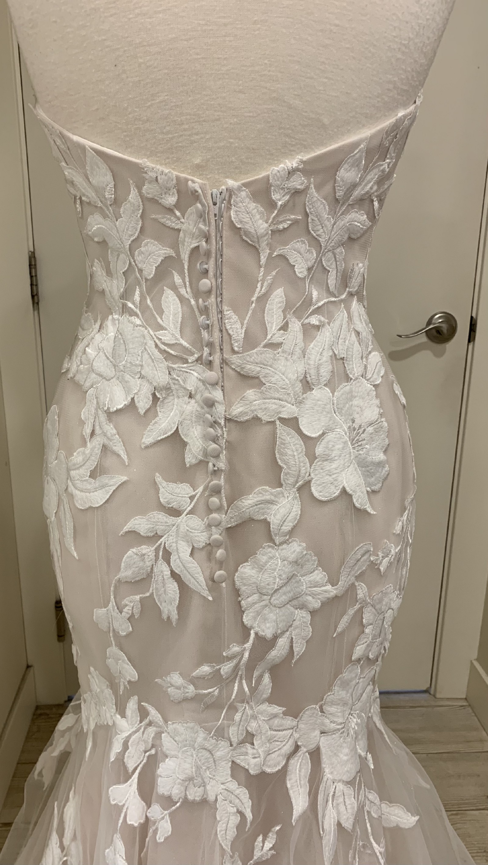 Strapless Mermaid Lace Bridal Gown :: My Gown Dress