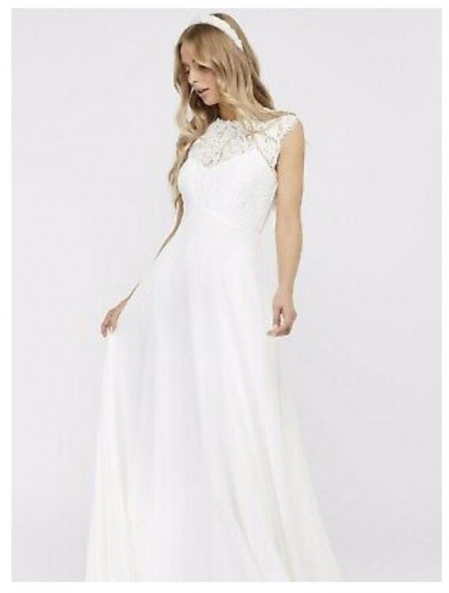 Monsoon Lilian Bridal Lace Maxi Dress
