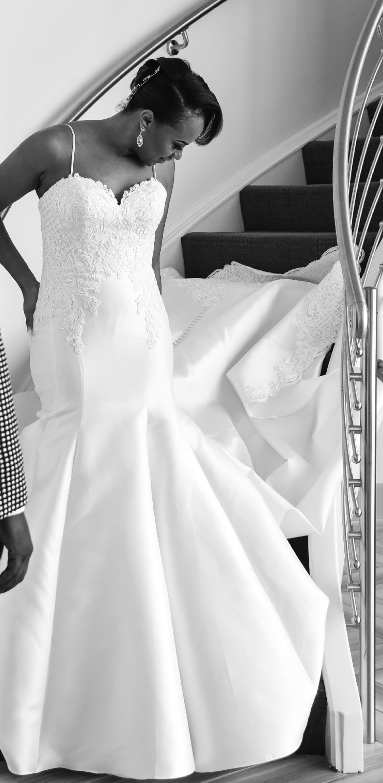 Martina Liana Structured Trumpet Wedding Gown style 20