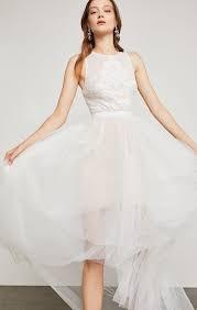 BCBGMAXAZRIA Riese High-Low Halter Gown