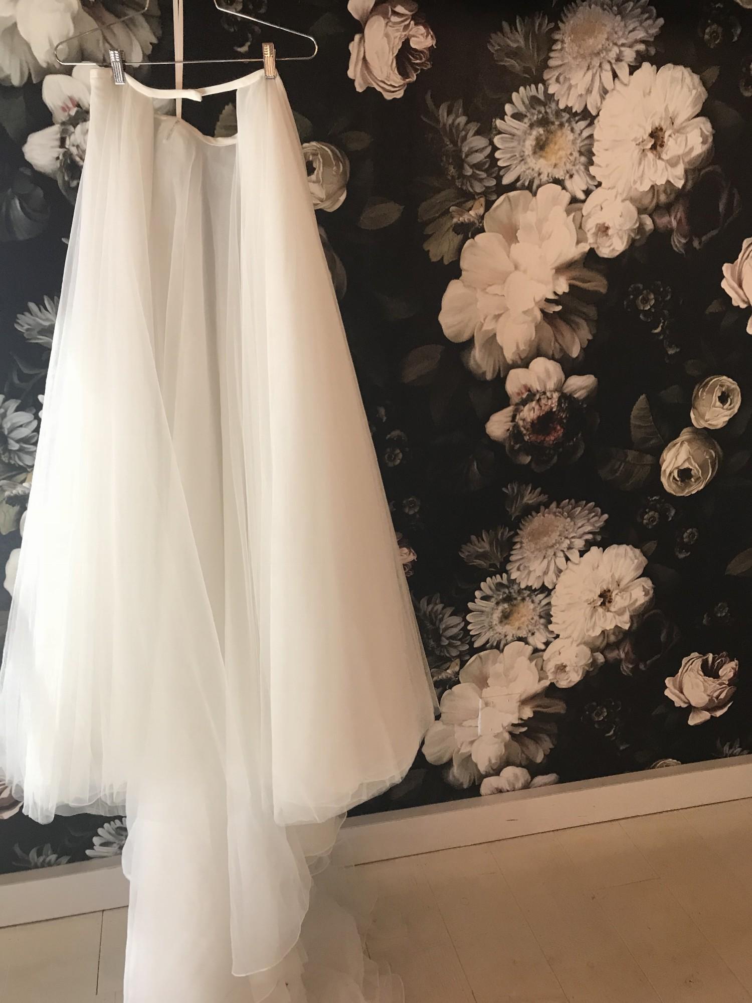Detachable Wedding Dress.Made With Love Removable Skirt Wedding Dress On Sale 25 Off