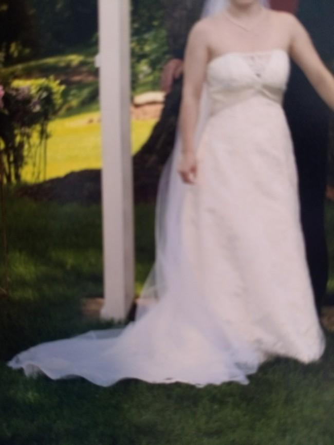 David's Bridal t9211