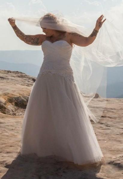Cizzy Bridal, White April
