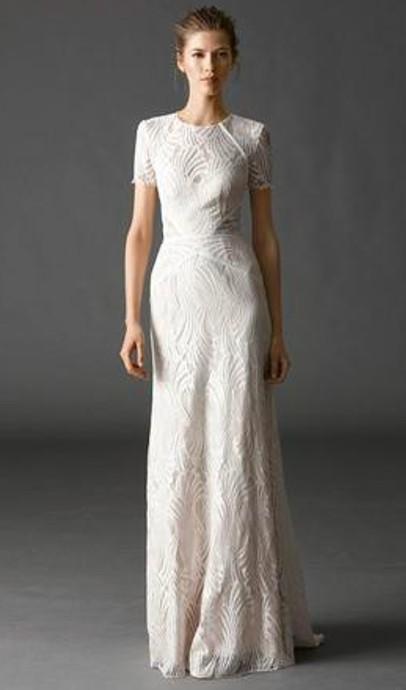 Watters Beilin Gown