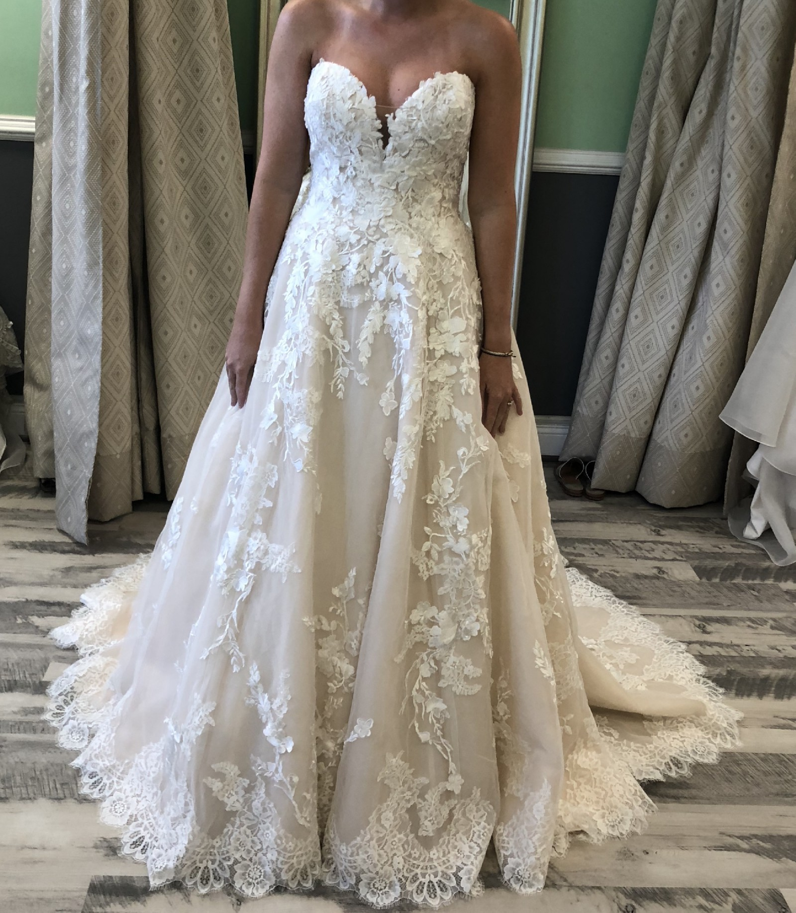 Off White Wedding Gown Meaning: Pronovias Elcira 2019 New Wedding Dress On Sale 32% Off