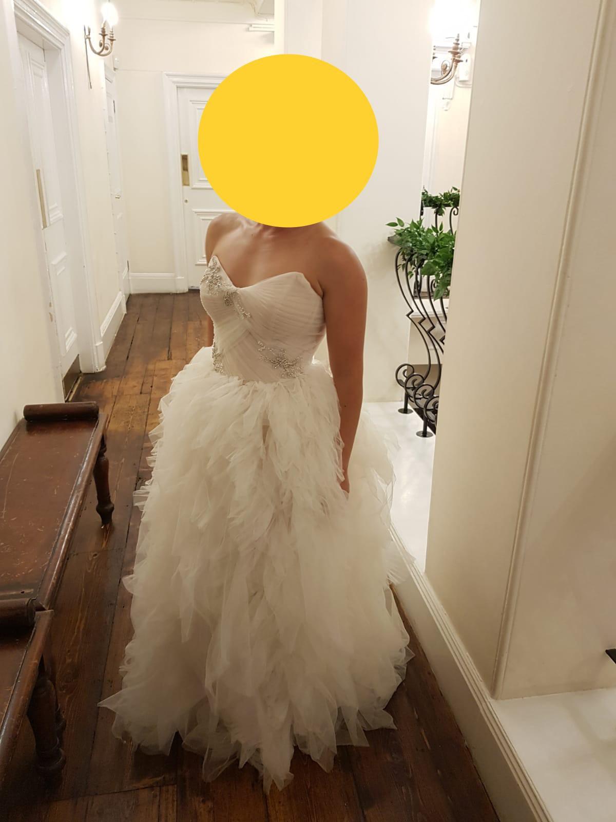 Vera Wang White VW18 Second Hand Wedding Dress Save 18 ...