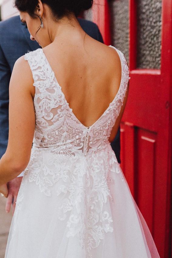 Mia Solano Delsie M1781z Preloved Wedding Dress On Sale 80 Off