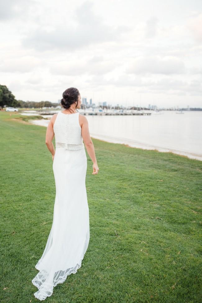 Q'nique Bridal Melea Skirt (LW 0005)