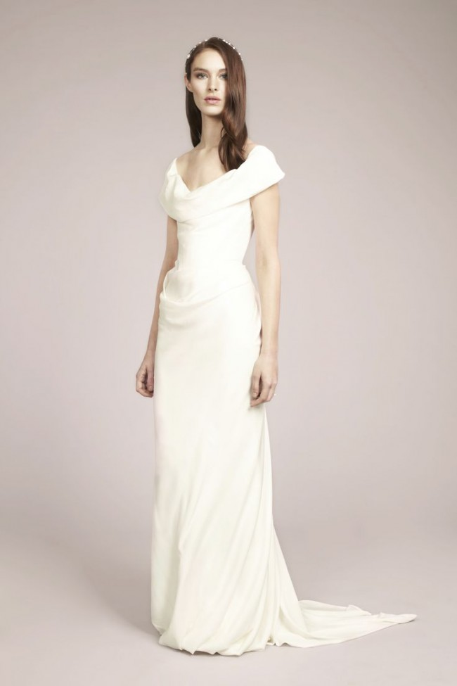 f6977c708c4 Vivienne Westwood Preowned Wedding Dress on Sale 50% Off ...