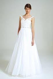 Collette Dinnigan Diamonte Flowers Lace Applique Gown
