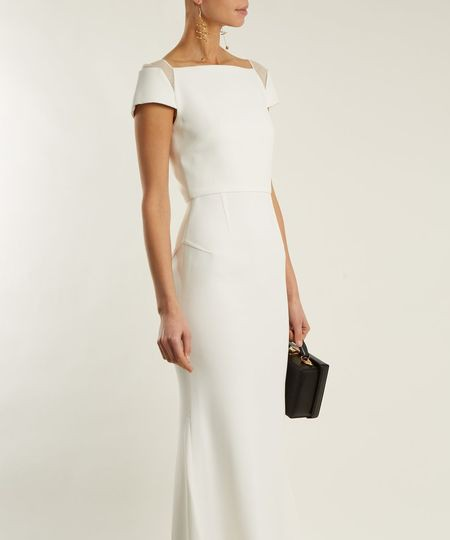 Roland Mouret ROLAND MOURET Hepworth stretch-crepe gown