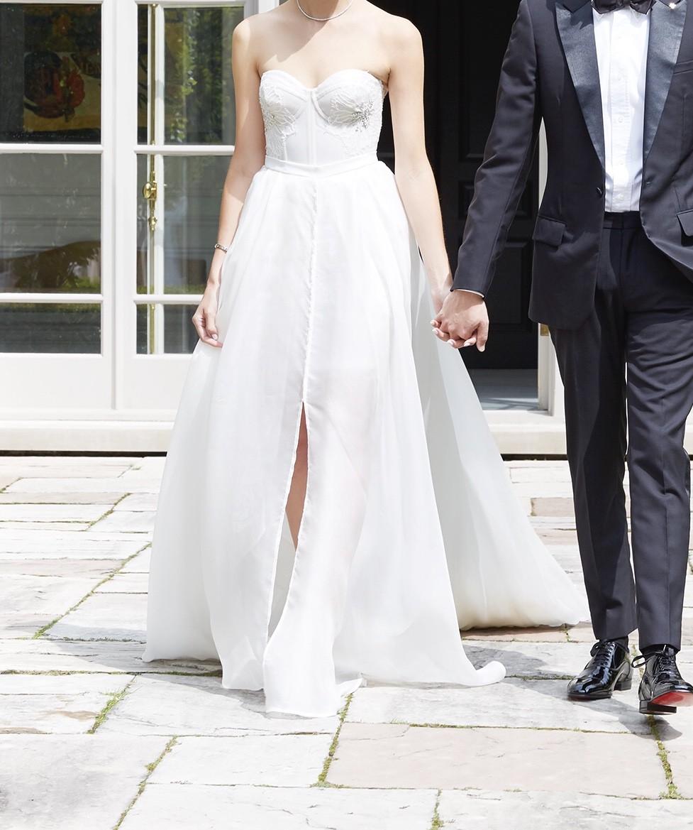 Inbal Dror Wedding Gowns: Inbal Dror Inbol Dror Custom Ivory Runway Bridal Gown