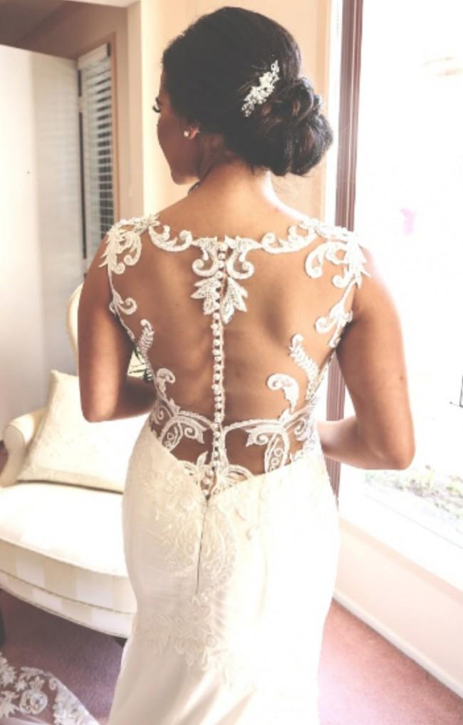 Belle Et Blanc Cara seath gown