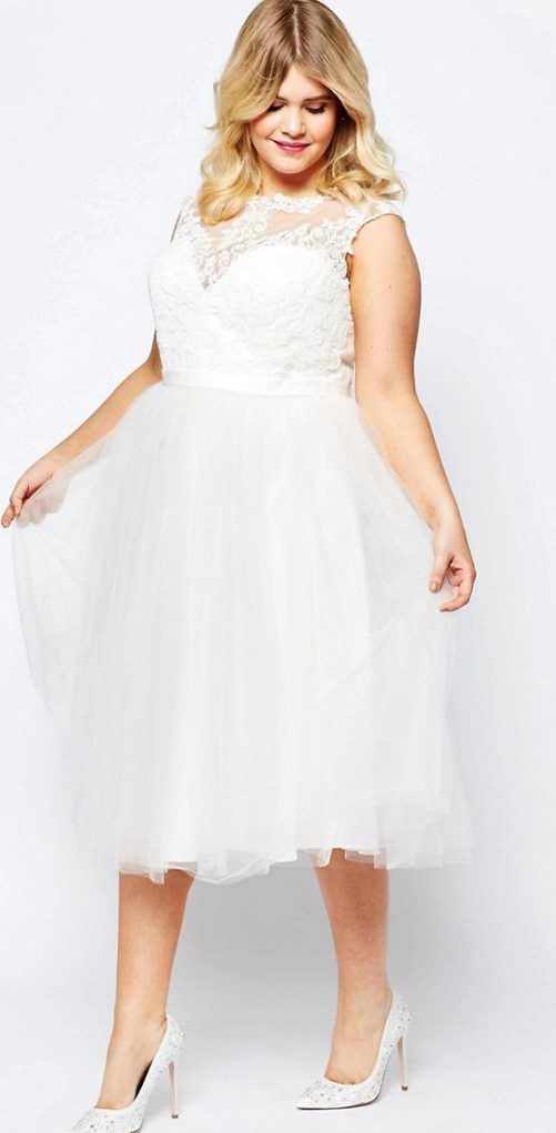735ea0e48a8 ASOS Curve Preowned Wedding Dress on Sale - Stillwhite United Kingdom