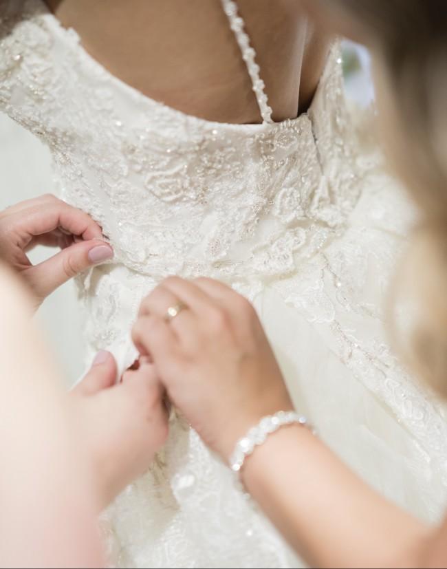 The Sposa Group, Demetrios Ada Gown Custom Made