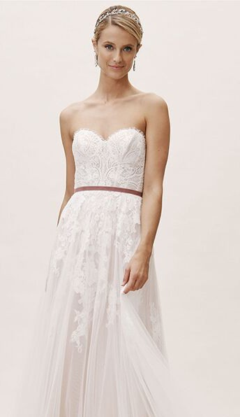 BHLDN Willowby by Watters Geranium