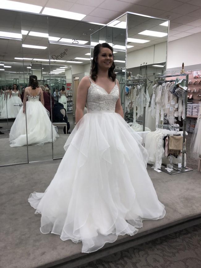 22d8ea3f3019 David's Bridal WG3903 New Wedding Dress on Sale 40% Off - Stillwhite ...