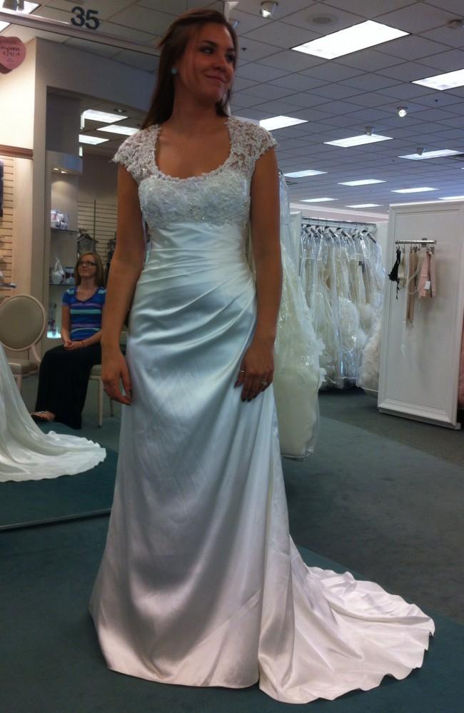 David's Bridal T3342