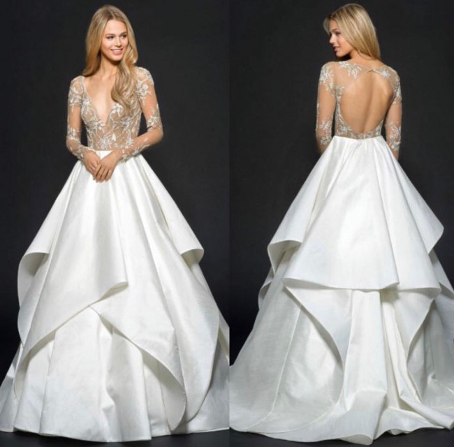 Hayley Paige, Collins Gown style 6650