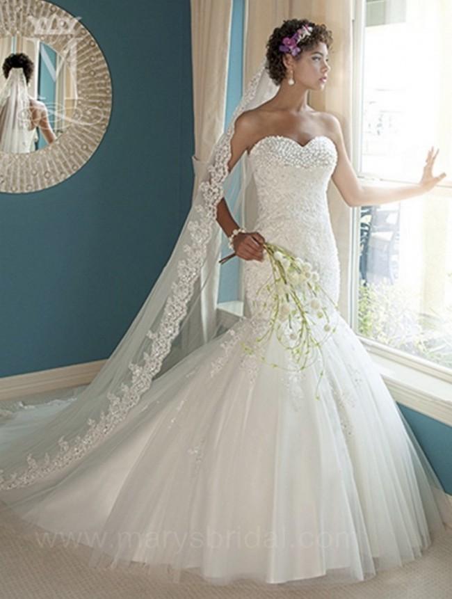 Marys Bridal 6207