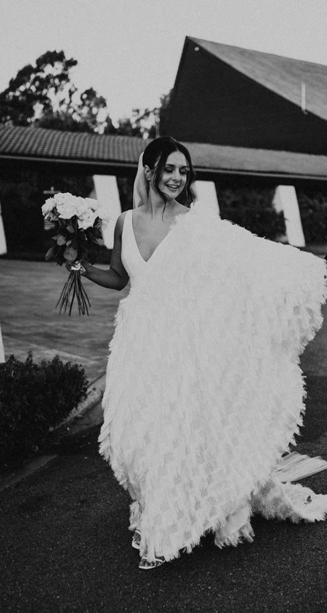 Suzanne Harward Shimmer gown
