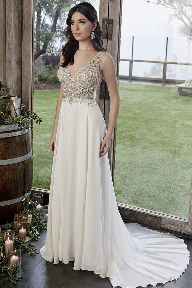 Casablanca Bridal Zoey ; Style 2422