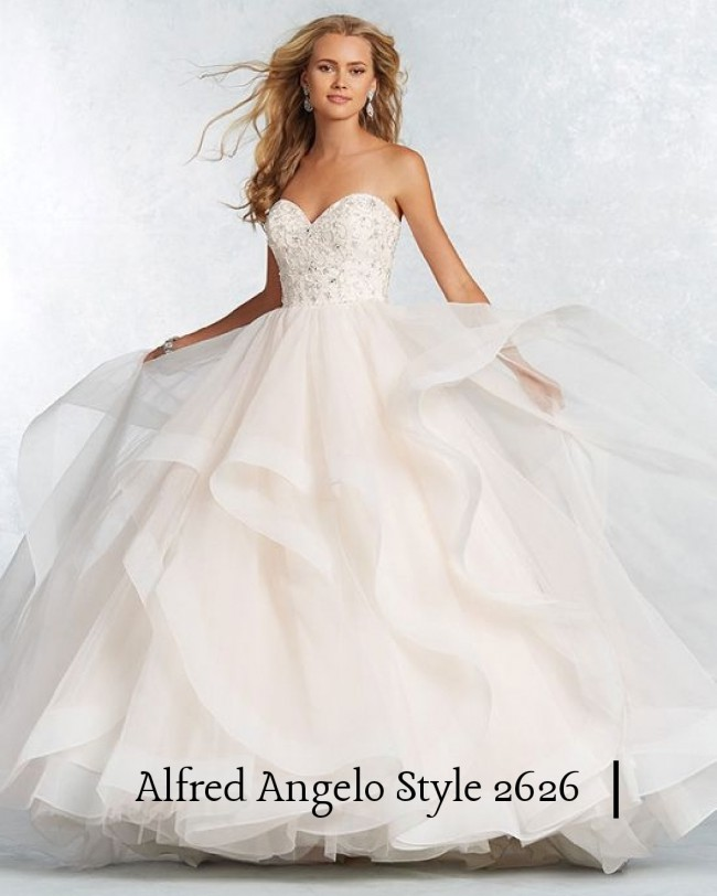 93d5827e4c5 Alfred Angelo 2626 New Wedding Dress on Sale 46% Off - Stillwhite ...