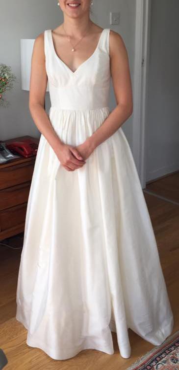 J Crew Wedding Dress.J Crew Karlie Gown 09686 Wedding Dress On Sale