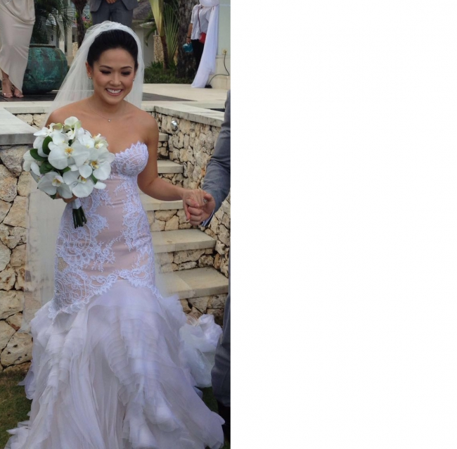 J Aton Couture 10 000 Size: J'aton Custom Made Used Wedding Dress On Sale 76% Off