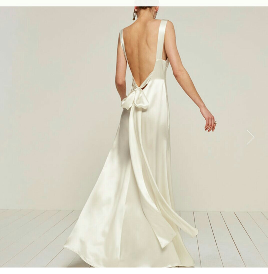 Reformation Eliana Dress Second Hand Wedding Dress On Sale
