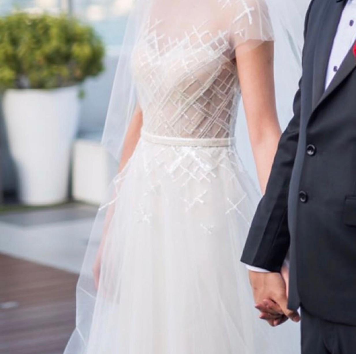 Mira Zwillinger Ray Used Wedding Dress On Sale 74% Off