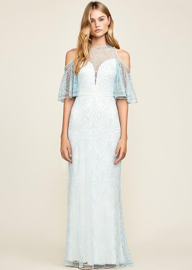 Tadashi Shoji Luz gown sold out online