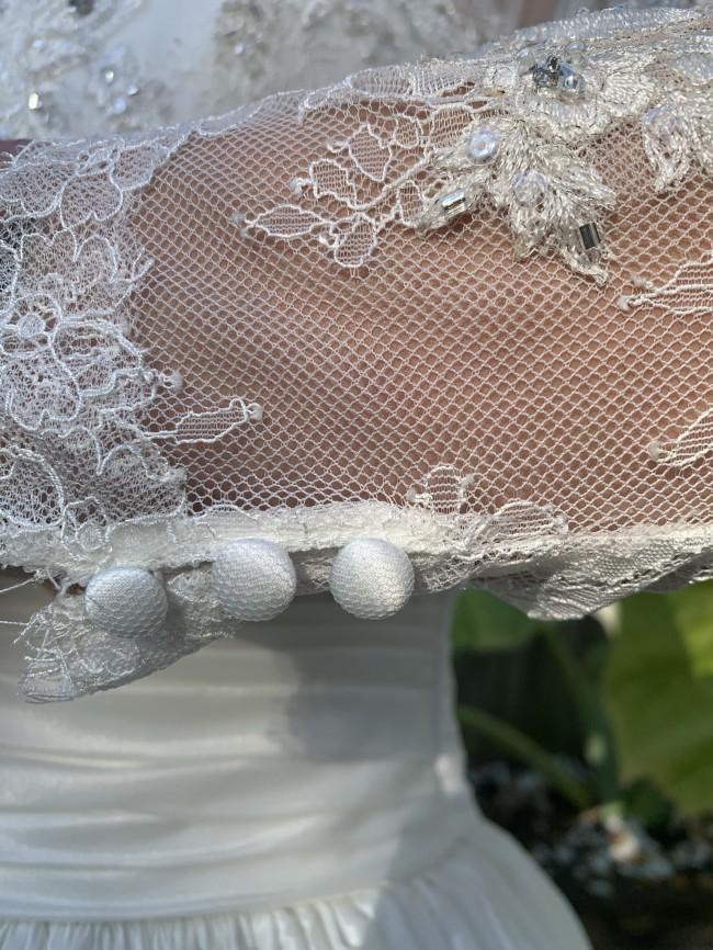Pronovias Amily - w/ matching veil