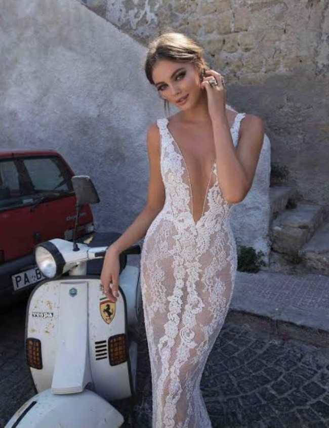 Muse By Berta, Beverley gown + veil